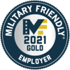 Military Friendly - 2021 Gold Employer Logo