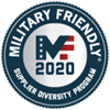 Military Friendly - 2020 Supplier Diversity Program Logo