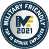 Military Friendly - 2021 Top 10 Souse Employer Logo