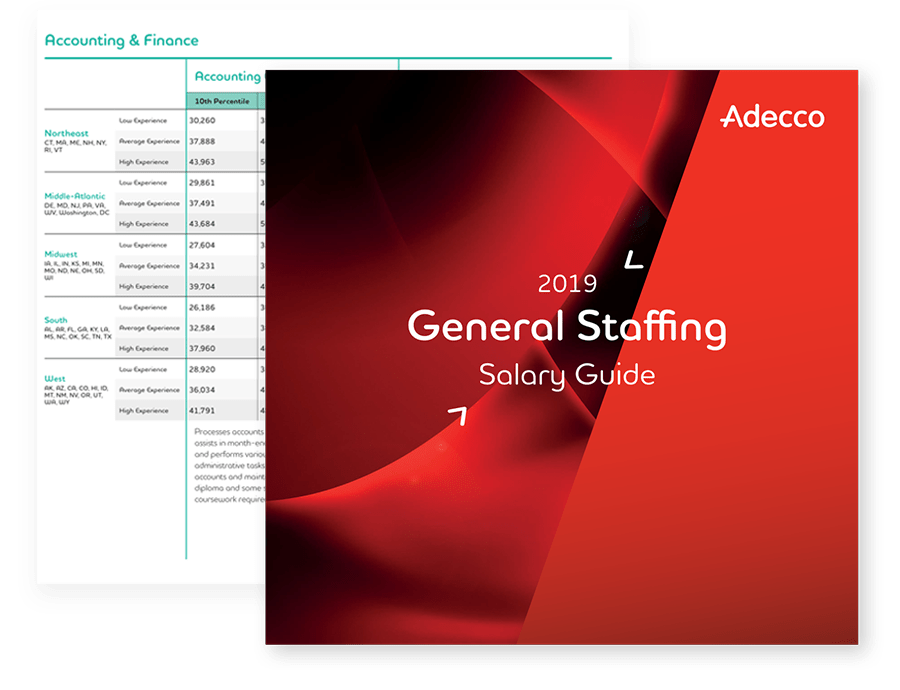 Salary Center for Salary Guides | Adecco