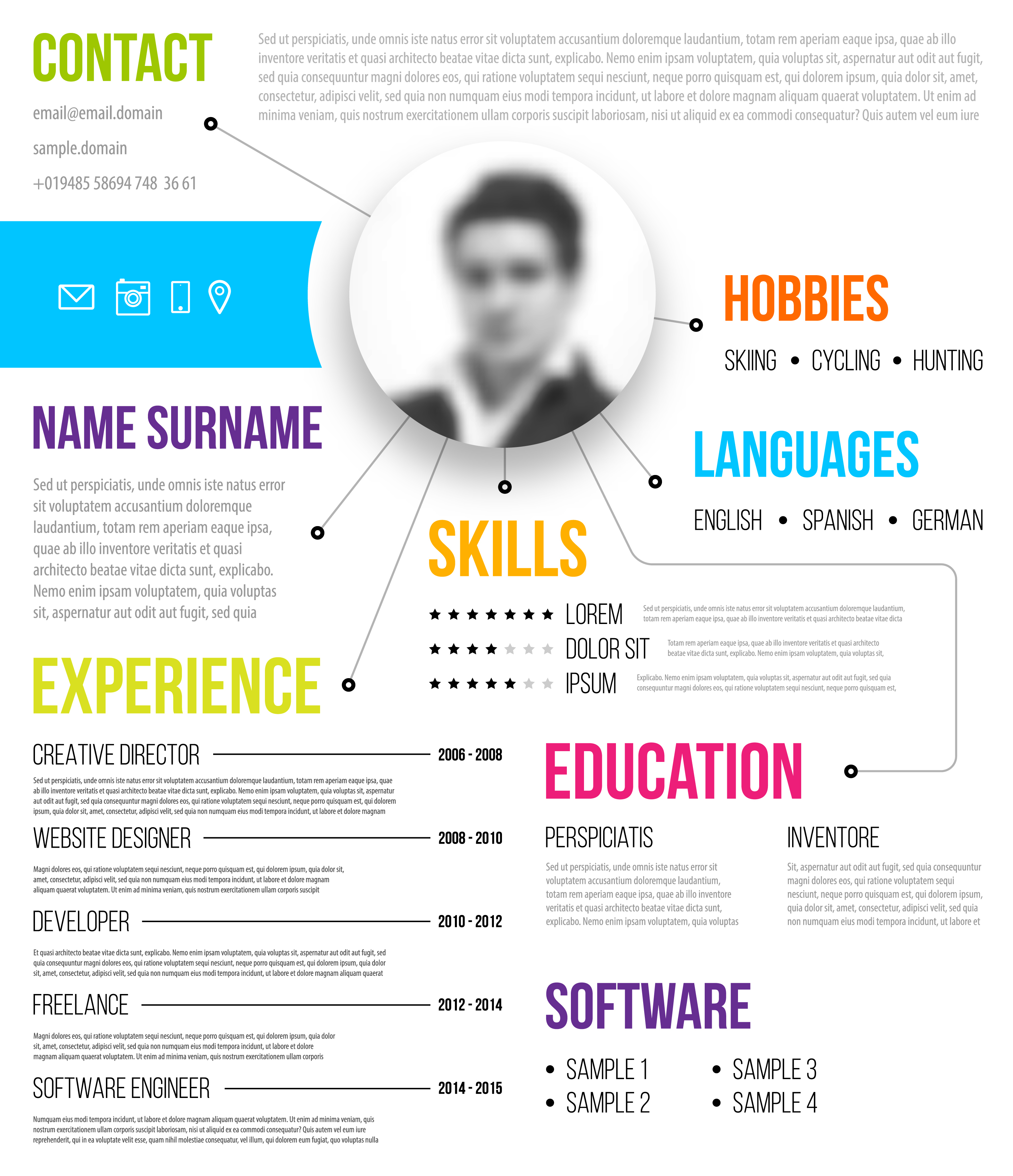 example of a standout resume
