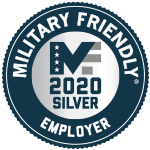 Military Friendly Employer 2020 - Silver
