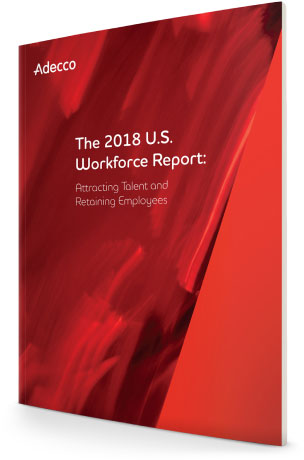 Cover of our 2018 U.S. Workforce Report