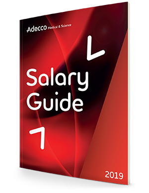 Check out our Medical & Science Salary Guide.